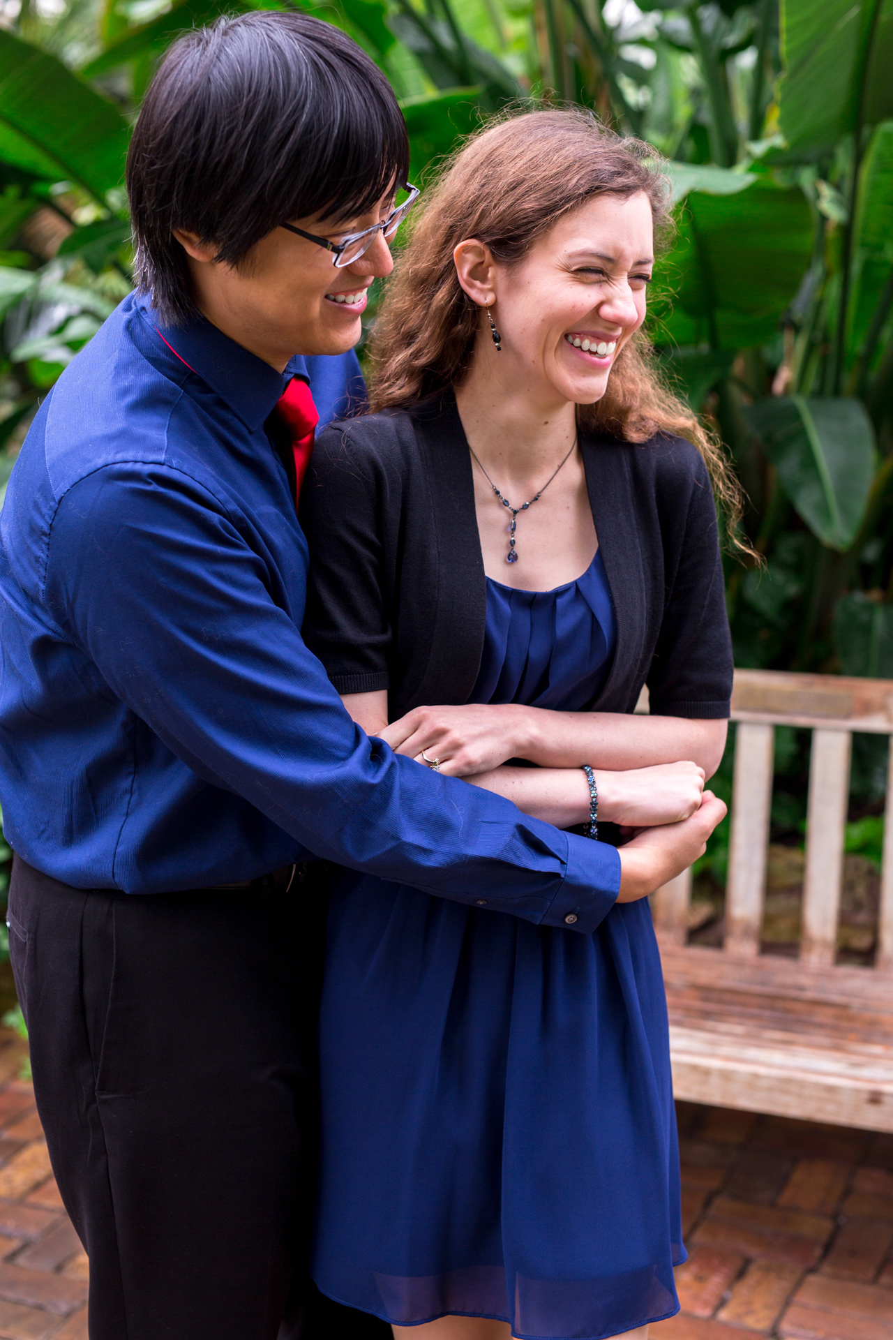 luthy botanical gardens greenhouse engagement biracial couple peoria centrail illinois wedding photographer photographers bloomington normal illinois valley lasalle peru ottawa-23.jpg