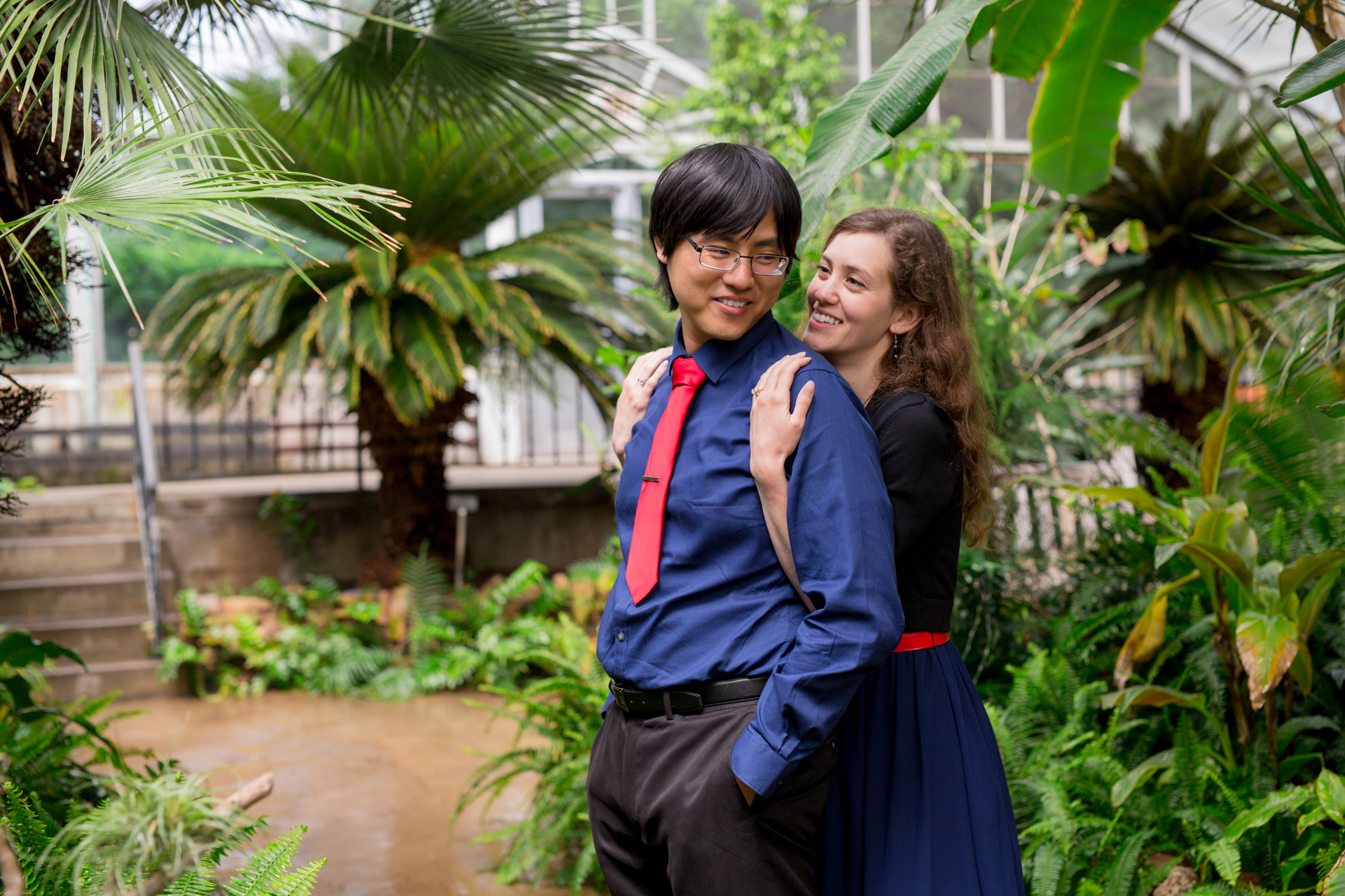 luthy botanical gardens greenhouse engagement biracial couple peoria centrail illinois wedding photographer photographers bloomington normal illinois valley lasalle peru ottawa-29.jpg