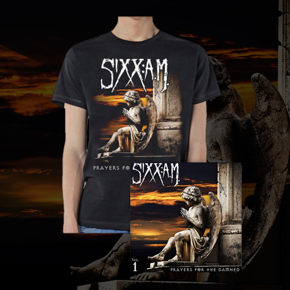 'PRAYERS FOR THE DAMNED'  CD + T-SHIRT BUNDLE