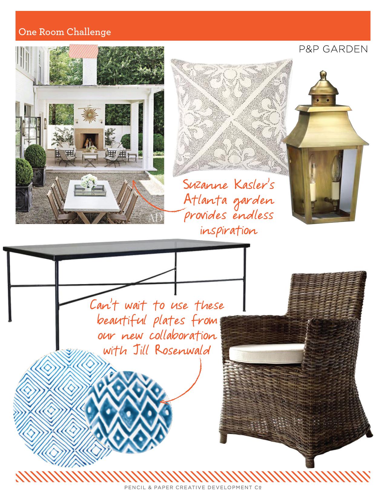 Inspiration Image Design: Suzanne Kasler via  Architectural Digest