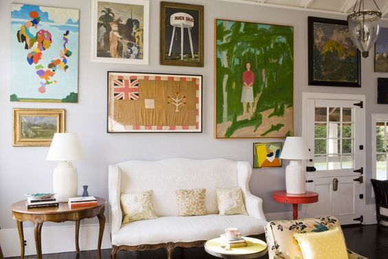 Kate and Andy Spade's Southhampton Home designed by Steven Sclaroff
