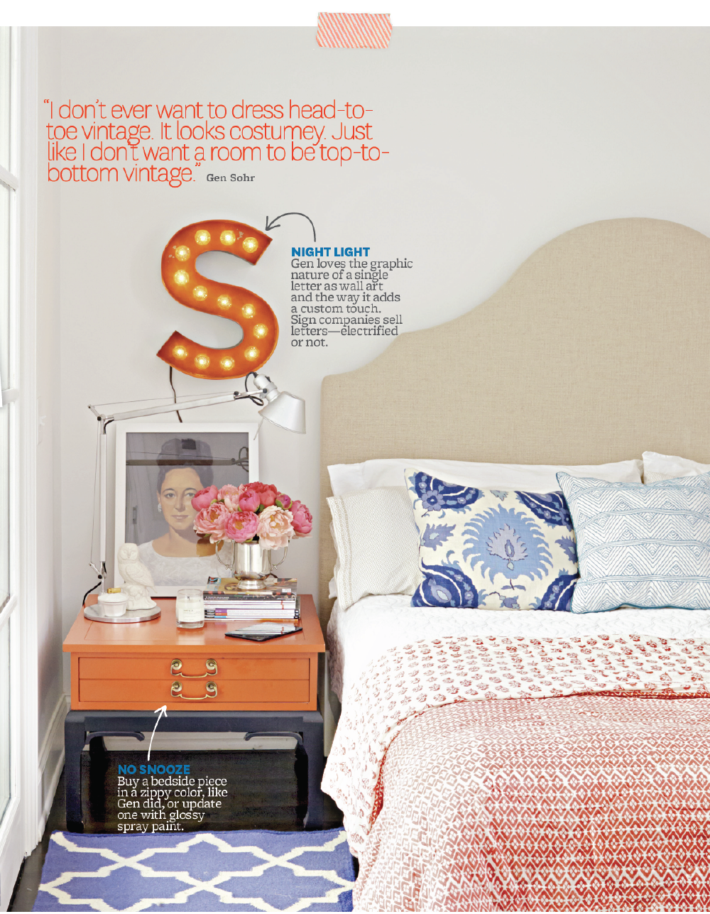 styling by  Eddie Ross , photo by  David Tsay  for Better Homes & Gardens Magazine