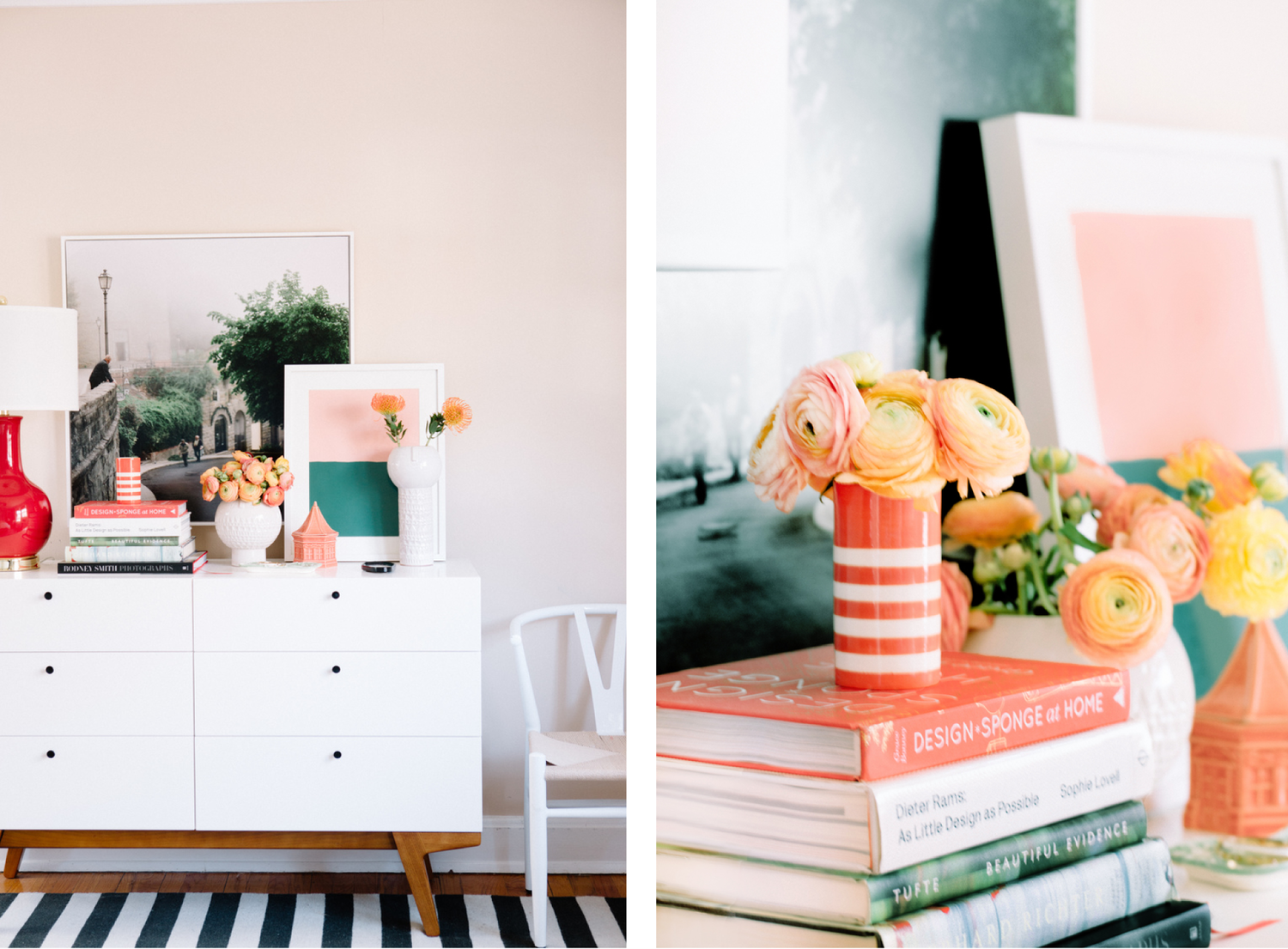 Pretty in Pink // Design by Pencil & Paper Co. // Photo by Leslee Mitchell