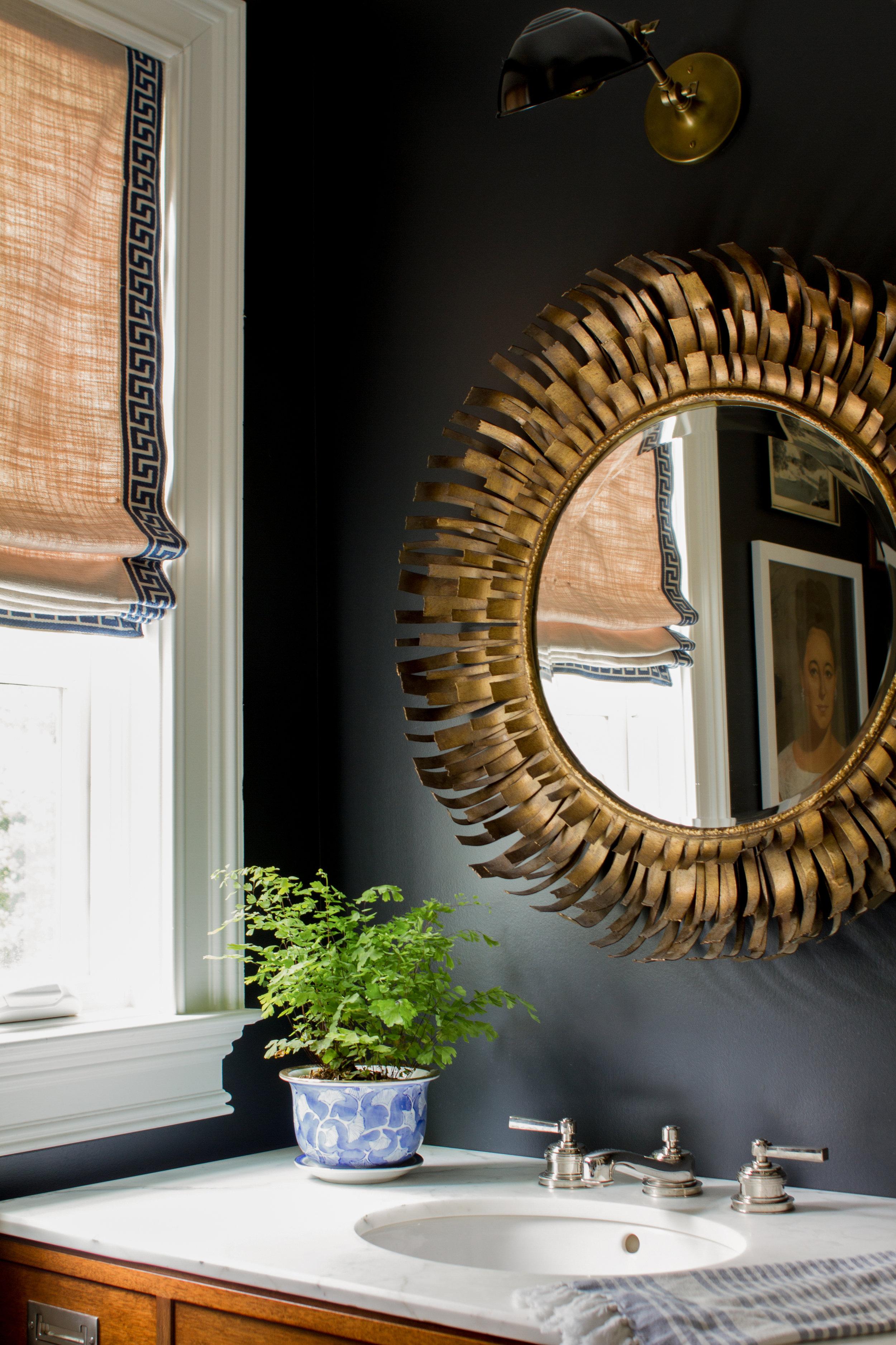 Hall Bath // Design by Pencil & Paper Co.