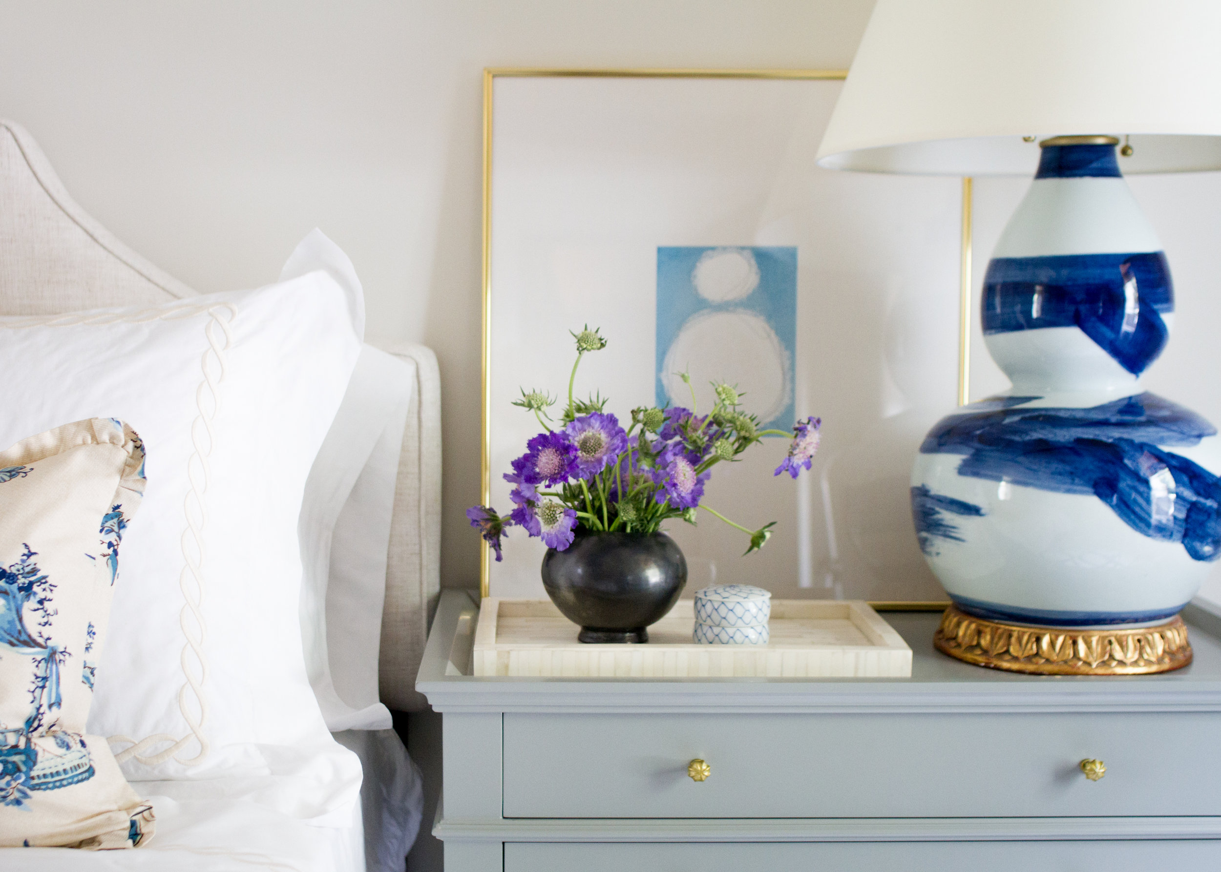 Brushstroke Lamp by Bunny Williams Home