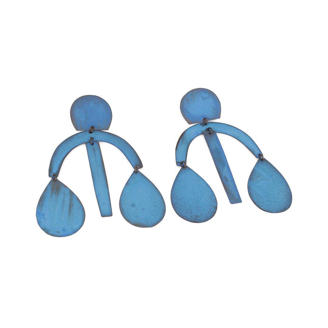 Arc Drop Earrings
