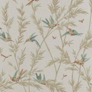 Bird & Vine Wallpaper