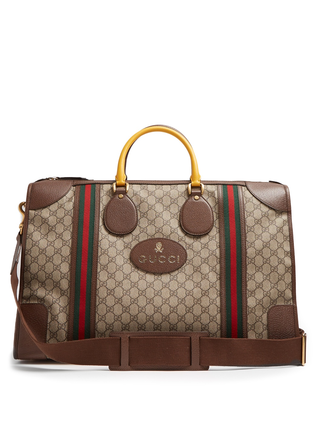GG Canvas Holdall