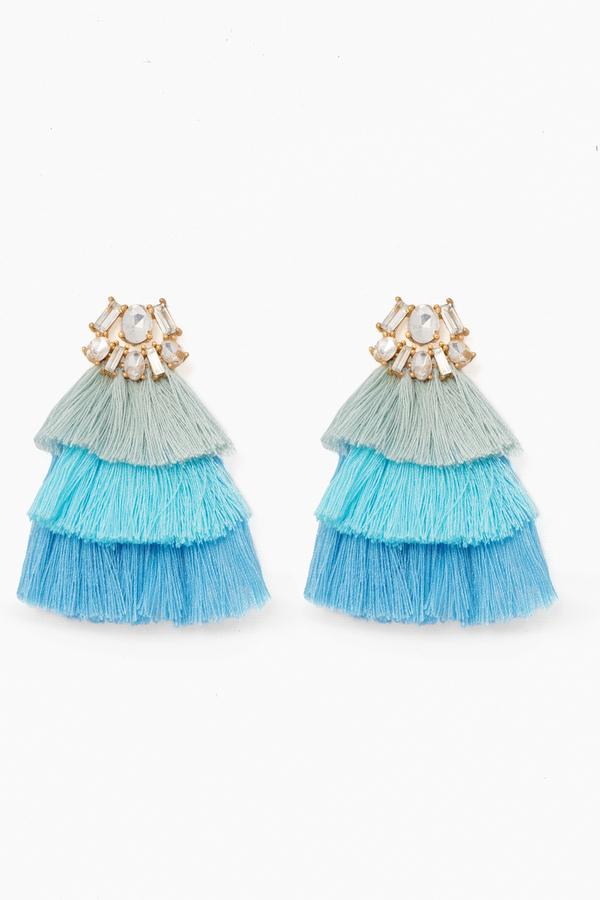 Bermuda Blue Earrings