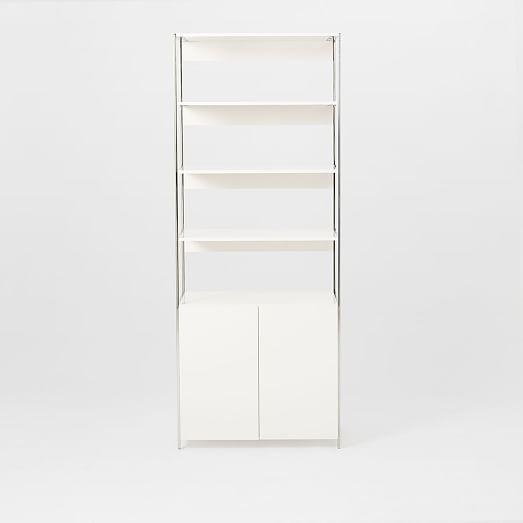 Lacquer Storage Bookshelf