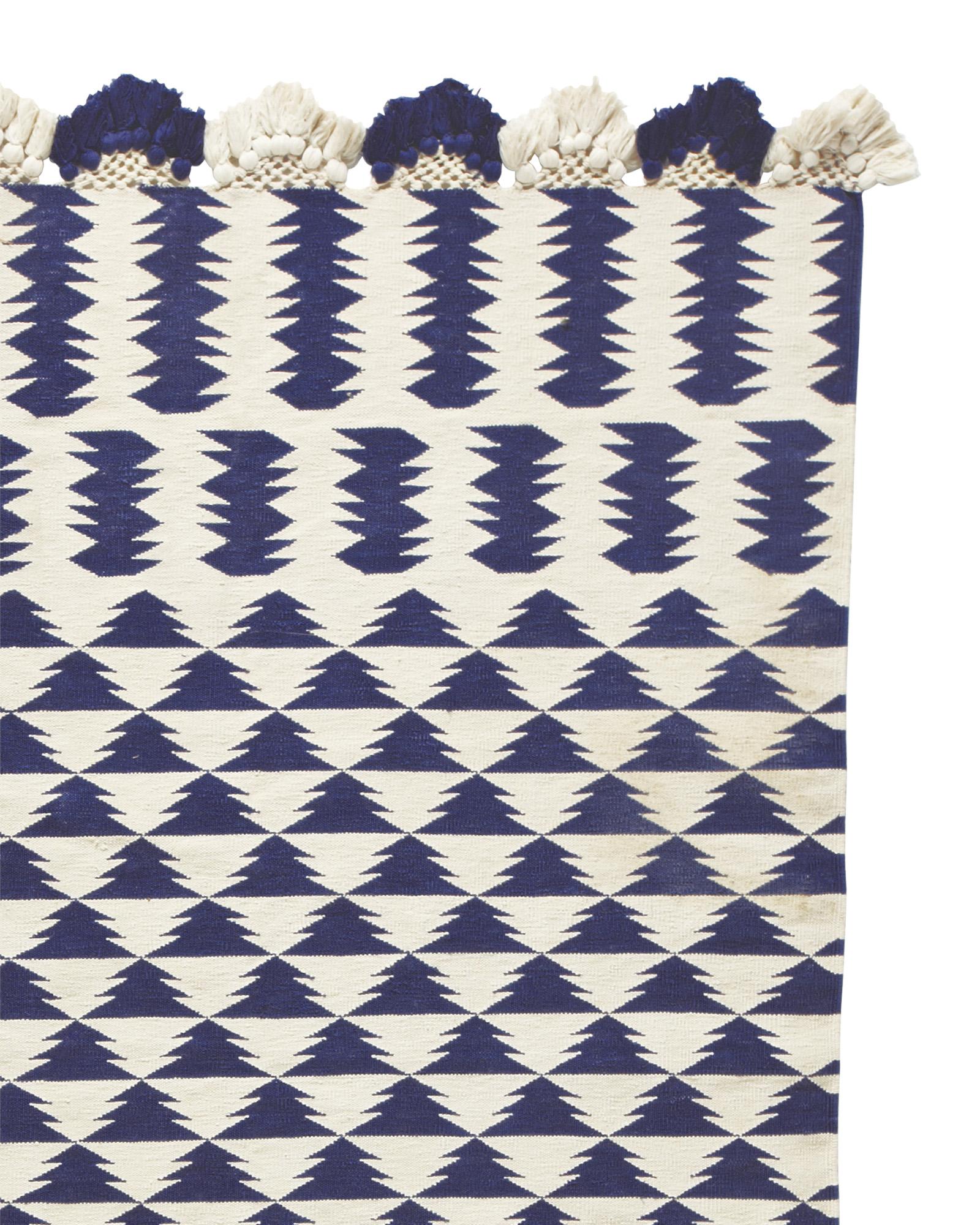zig cotton dhurrie / $119