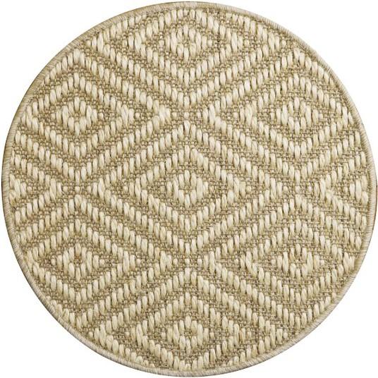 diamante sisal round rug