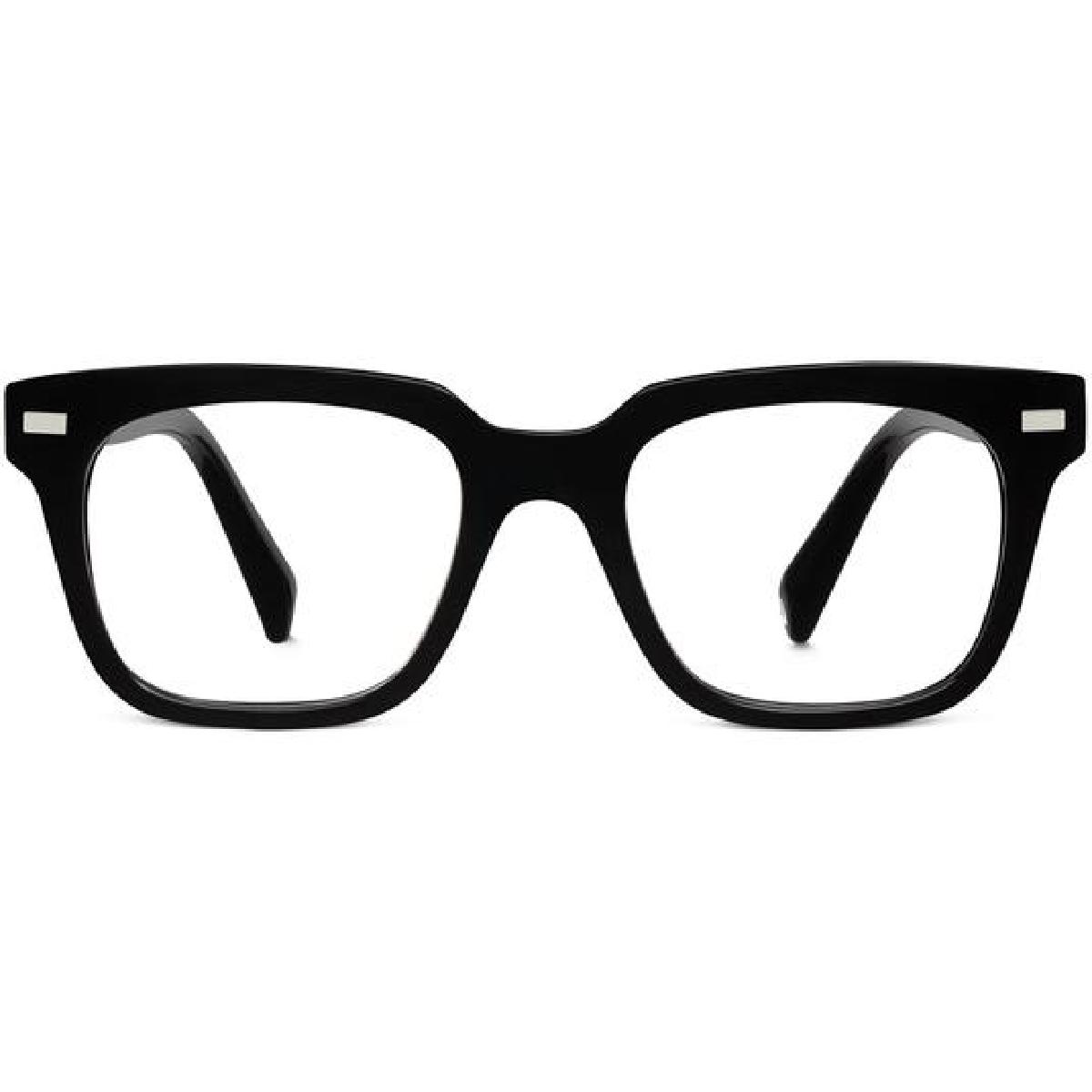 winston eyeglasses in jet black