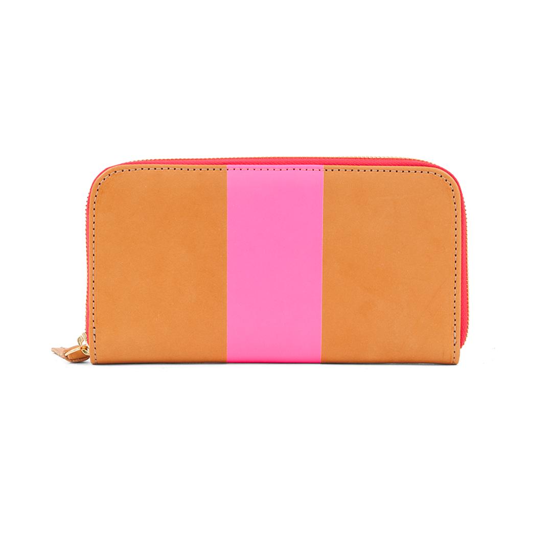 Zip-Wallet---Russet-with-Neon-Pink-Stripe---WA10001-429---Back.png