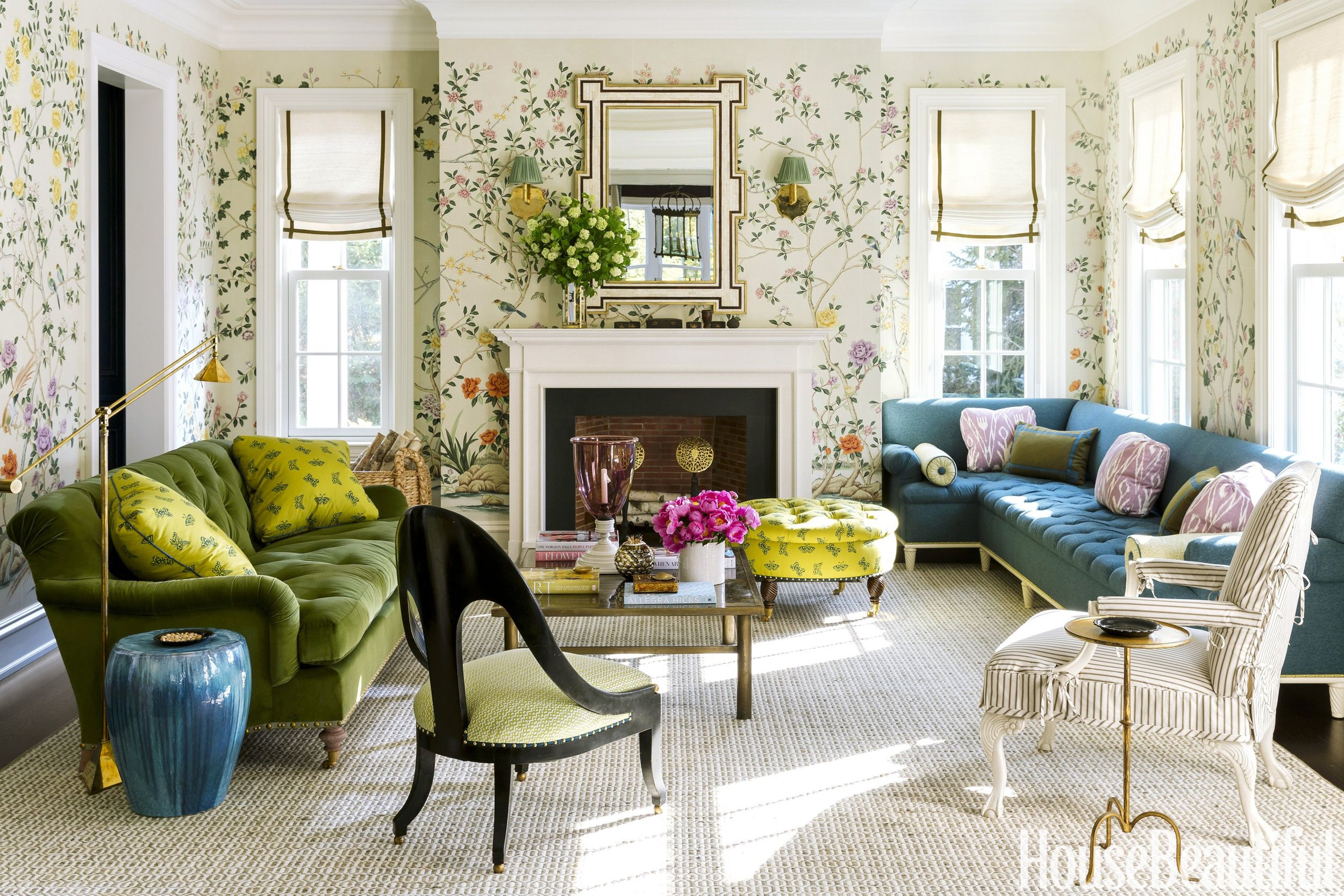 design by  ashley whittaker  / photography by  read mckendree  / featured in  house beautiful