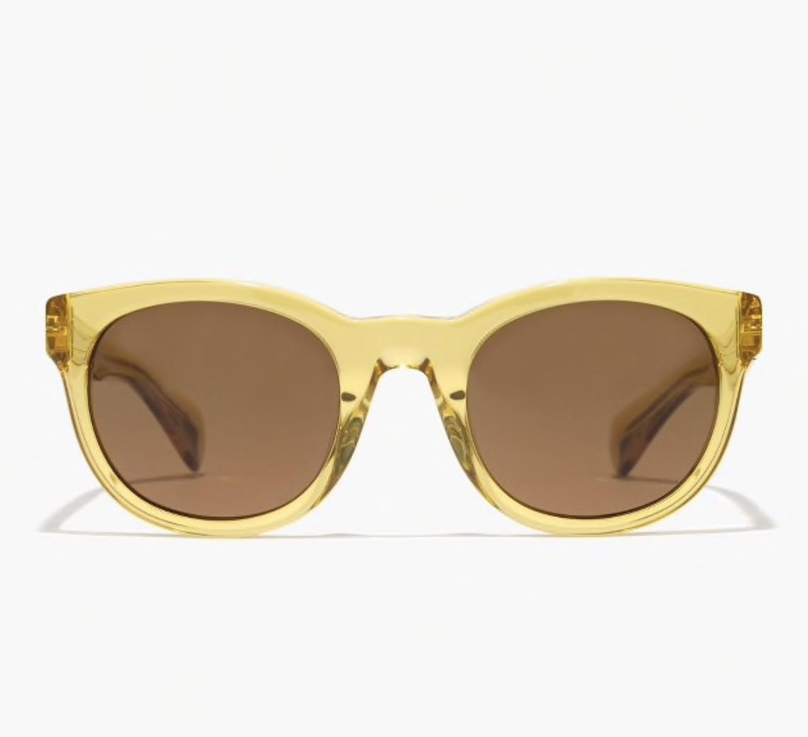 """yellow """"sam"""" sunglasses"""