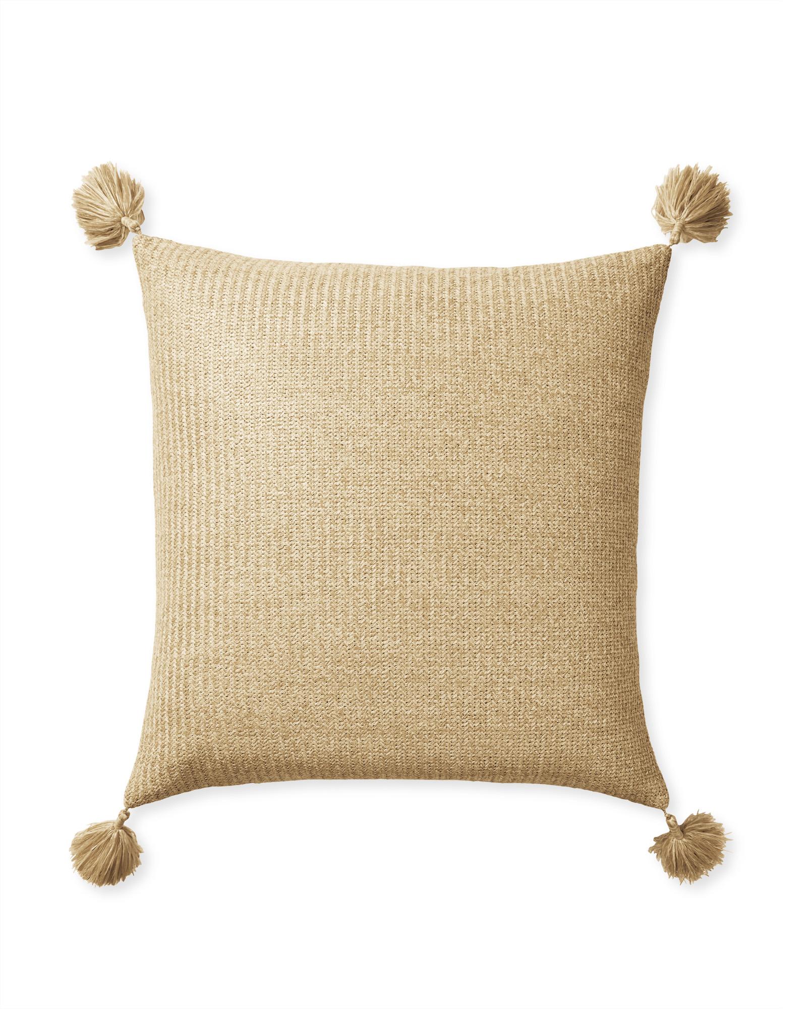 natural outdoor pillow