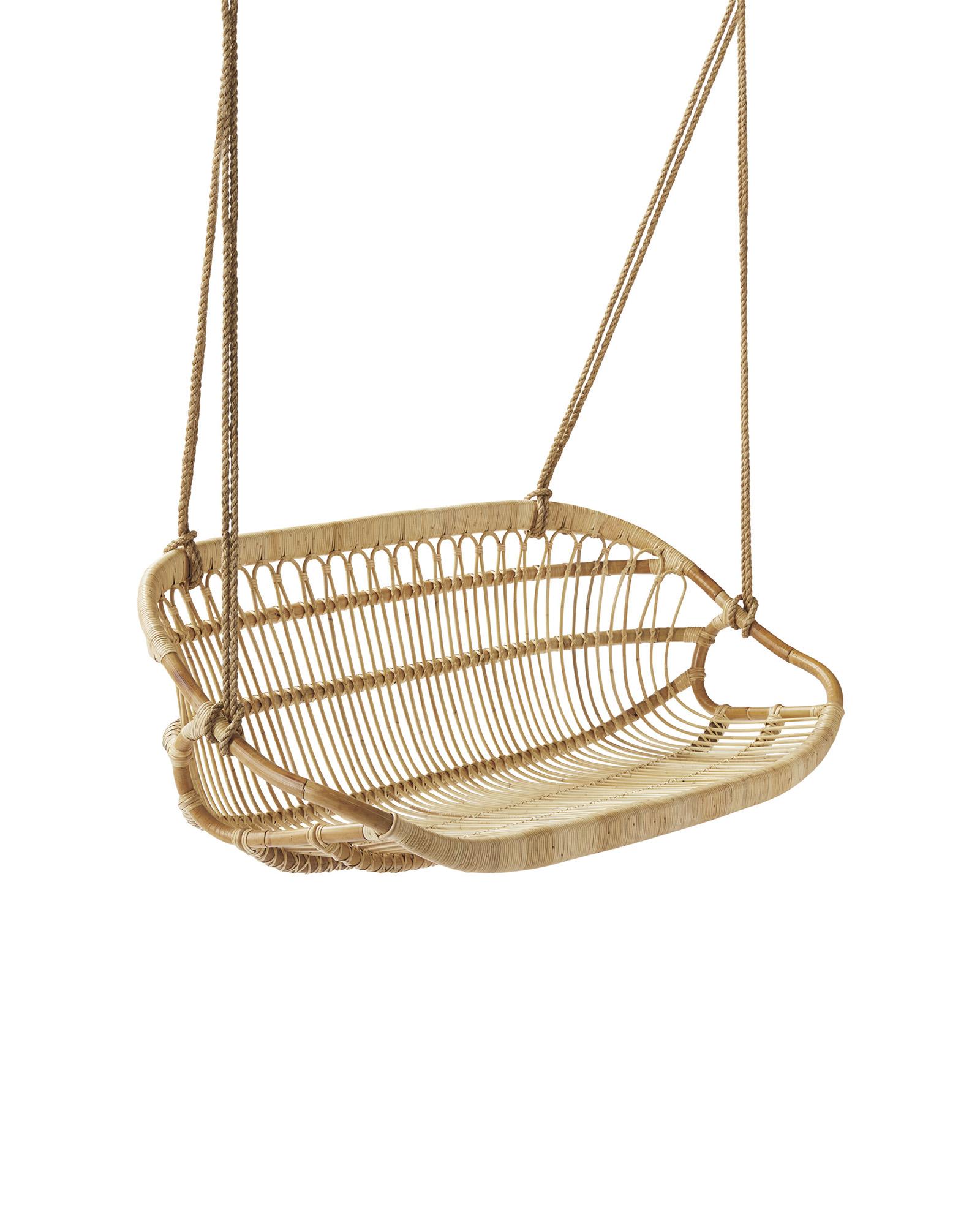 whimsical woven swing