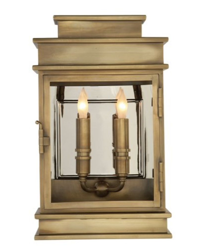 traditional exterior sconce