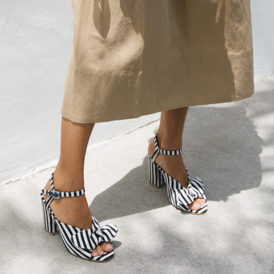 leigh bow sandal  – now 30% off at  loeffler randall !