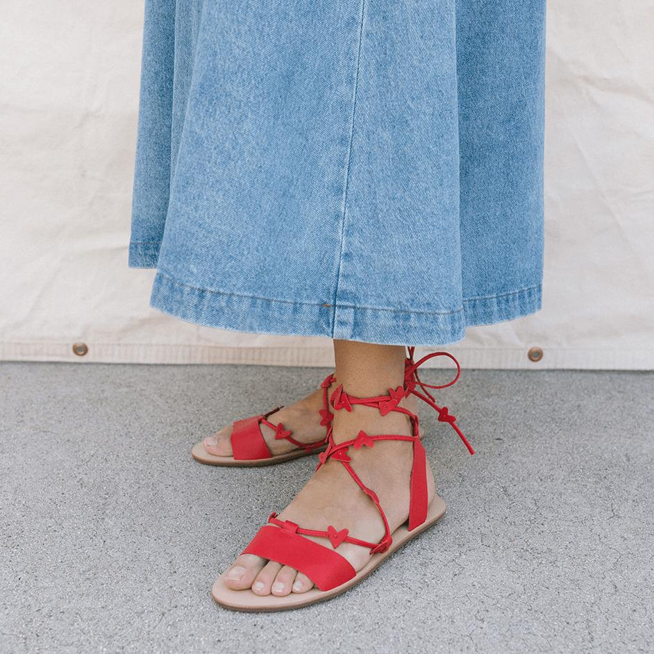heartla ankle wrap sandal – now 30% off at  loeffler randall !