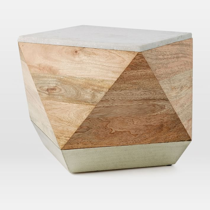 this geometric accent piece is $100 off right now!