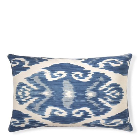 """this silk ikat is on sale for under $70. we are obsessed with this pretty """"finishing touch""""!"""
