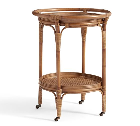 we just scored this chic bar cart for under $300! how perfect is it for warm-weather entertaining?