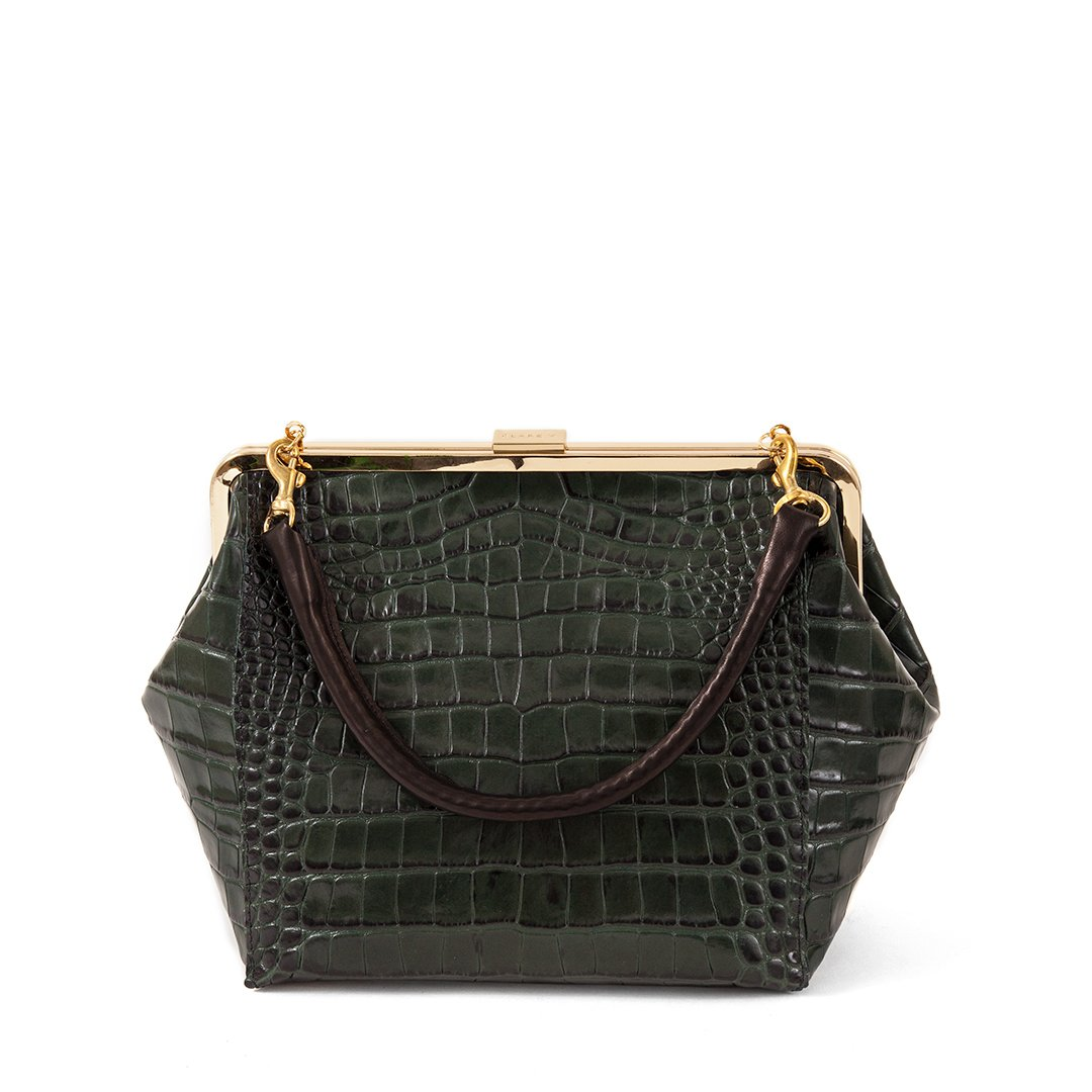 Le-Big-Box-Bag---Loden-Croco---HB-TH-BB-100011-LODEN---Front.jpg