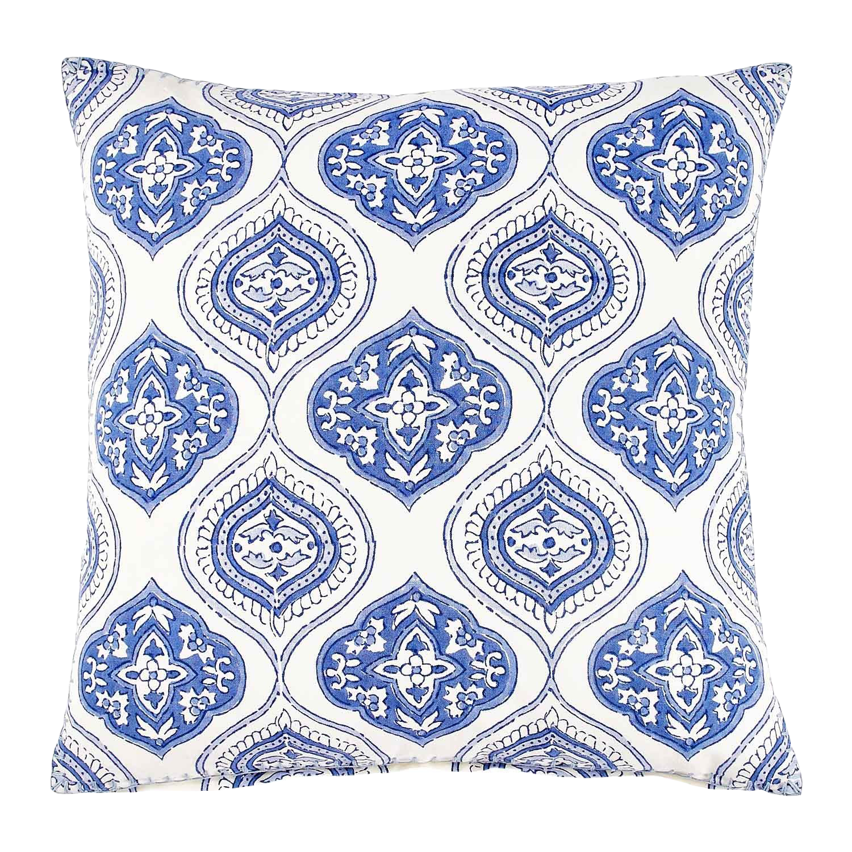 block print pillow  - $70
