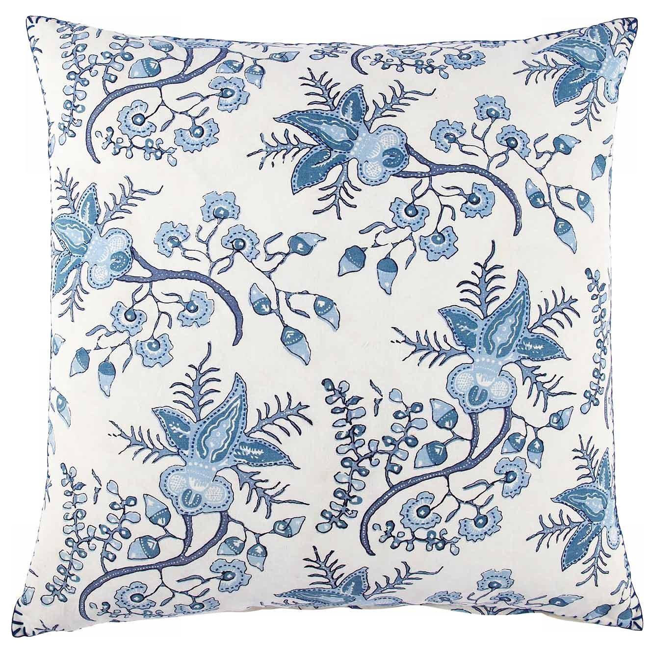 block printed pillow  - $100