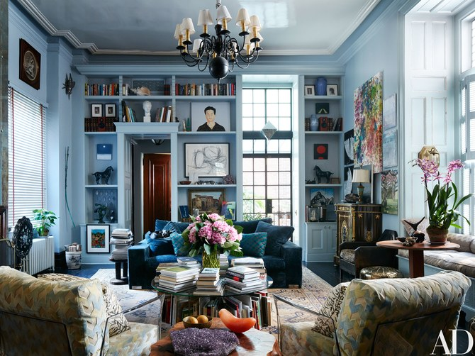 jack Pierson / photo: stephen kent johnson / architectural digest