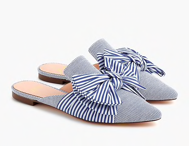 you know we can't resist a stripe! these  slides  are 40% off