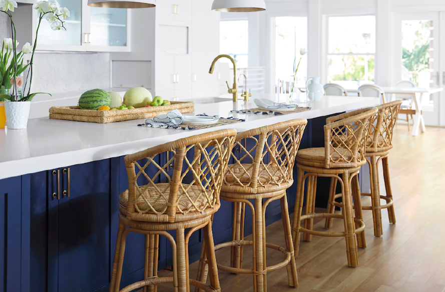 snap up these  rattan barstools