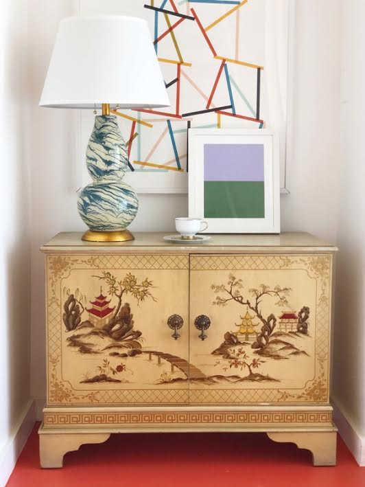 snap up our very favorite  marbleized glass lamp ! and it's under $100!