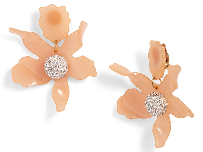 make a statement with these  striking petal earrings !