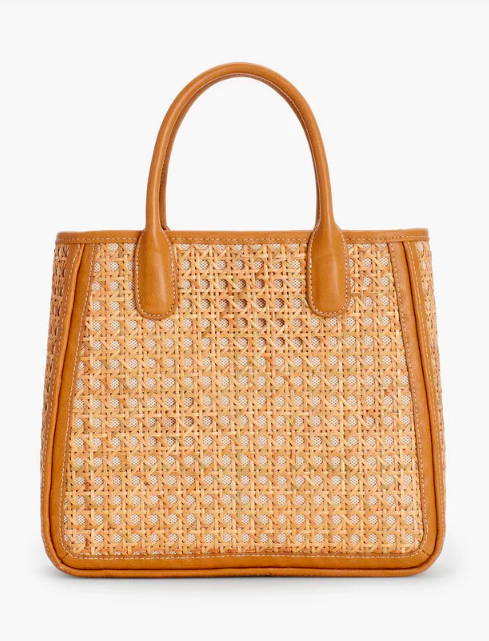 love is an understatement with this  caning drawstring tote !