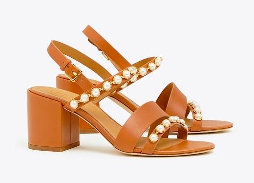 we can't resist a  block heel !