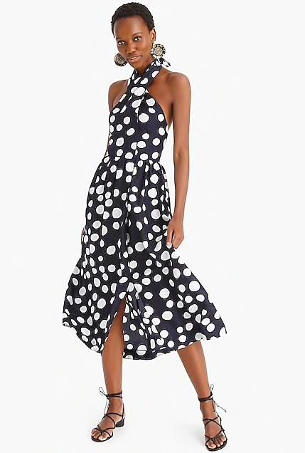 we always feel prettiest in pattern! snap up this polka dot dress  here !