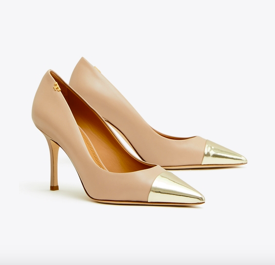 our favorite  cap toe pumps  are over 30% off today!