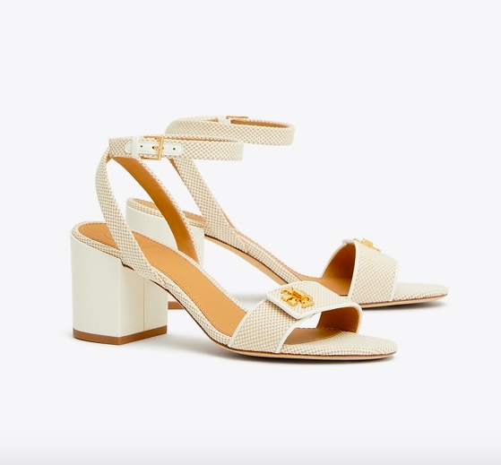 polished and easy going, these strappy  block heel sandals  are so versatile!