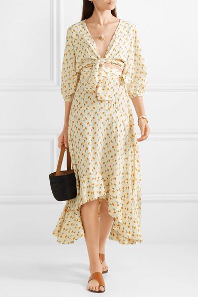 take 30% off this breezy  asymmetrical skirt !