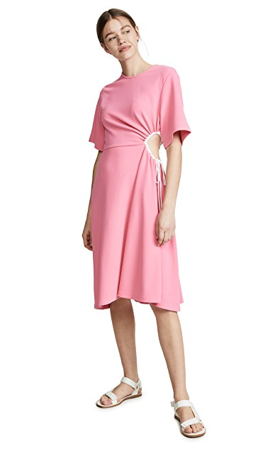 hello color crush! we're crushing hard on this  cutout dress !