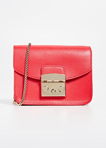 you know that color makes us happy! this  leather crossbody bag  is 40% off today!