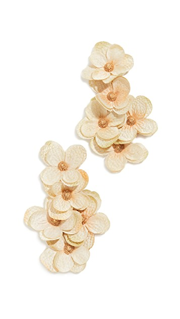 you know we can't resist an  oversized statement earring !