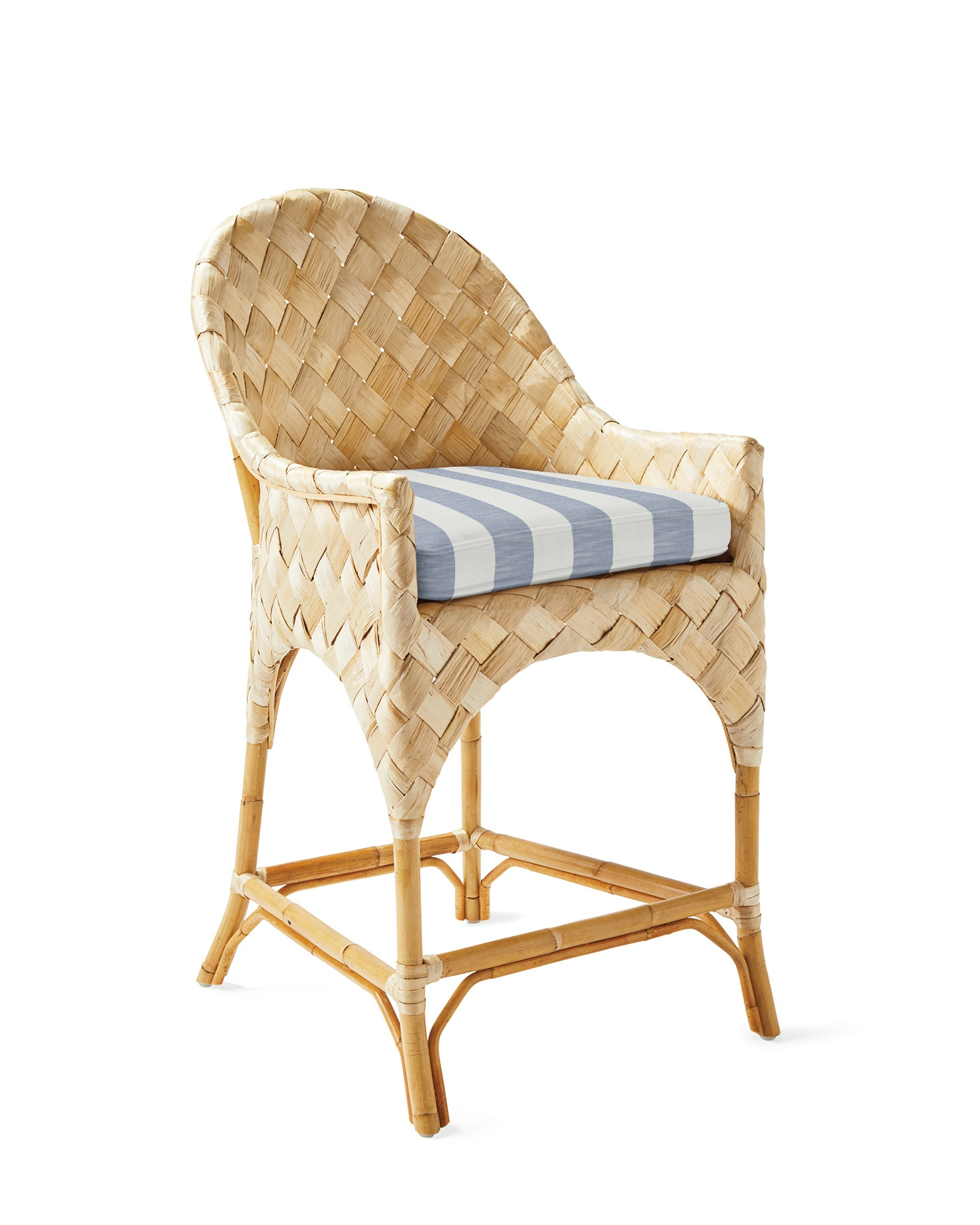 add a nod to island living with these swoon worthy  banana leaf and rattan stools ! 20% off ends tonight!