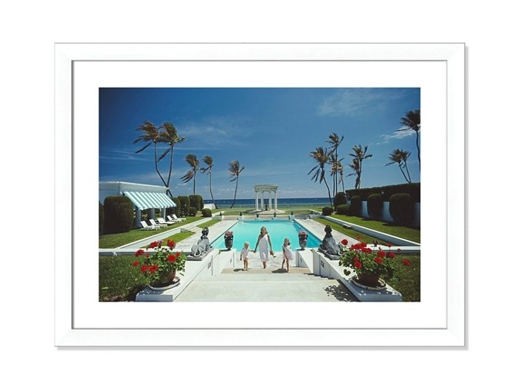 file this under places we'd rather be! this iconic  slim aarons photo  is on major sale today!