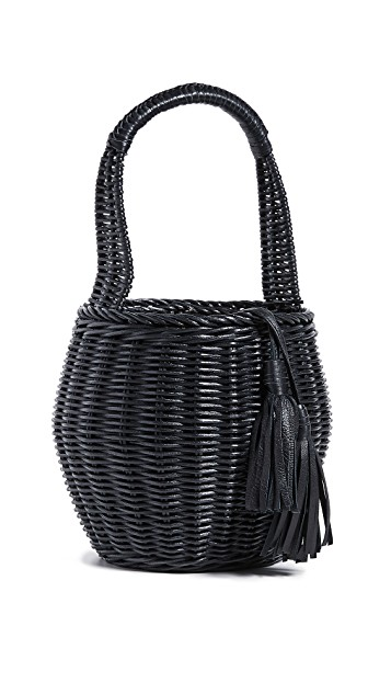 you know we can't resist a  wicker bag  - snap this one up for under $70!