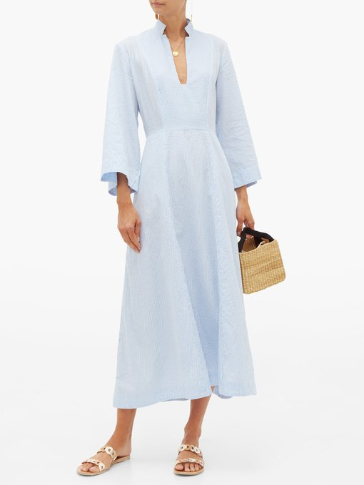 charming and effortless… the ideal  seersucker dress  for summer!