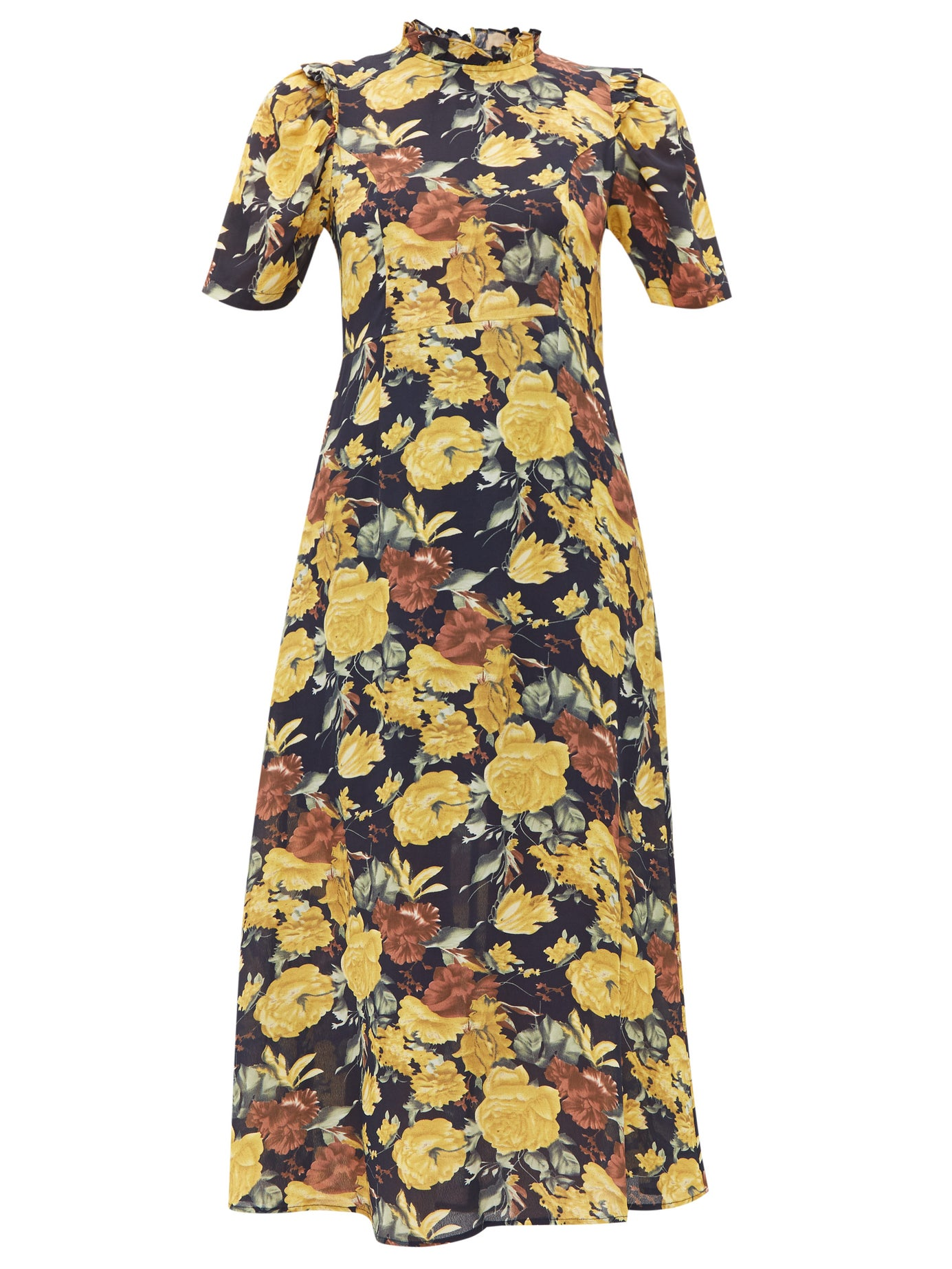 you know we can't resist a  vintage inspired midi dress !